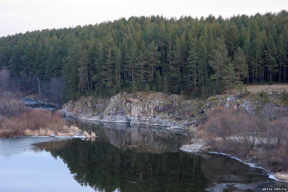 Река Реж. Свердловская область